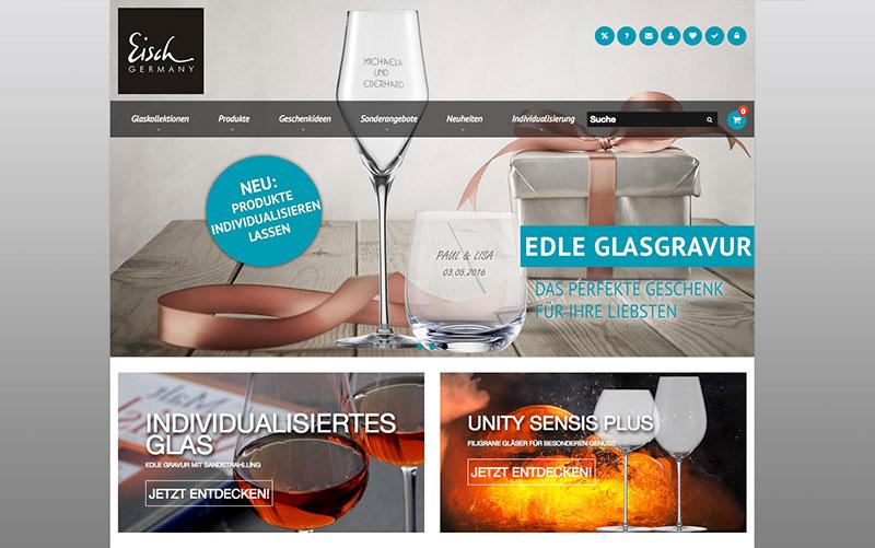 constancy GmbH –Eisch Glasshop Startseite