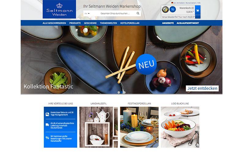 constancy GmbH –Seltmann Weiden Shop Startseite