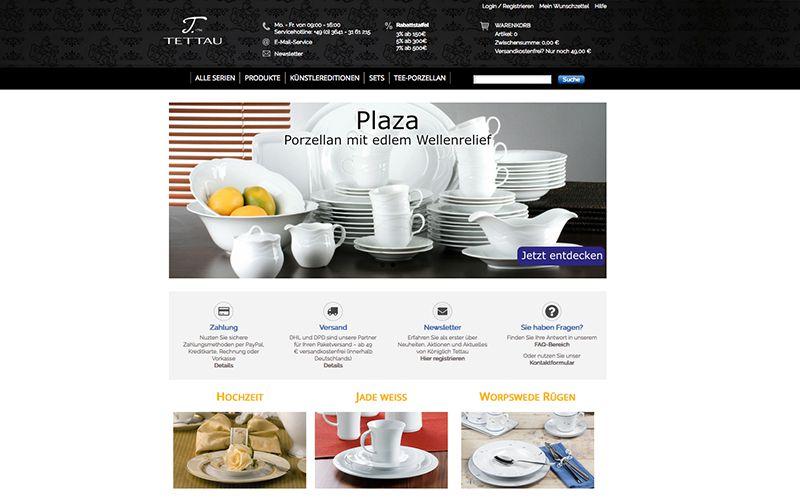 constancy GmbH –Königlich Tettau Shop Startseite