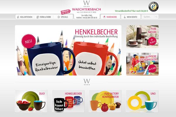 constancy GmbH –Waechtersbach Keramik Shop Startseite