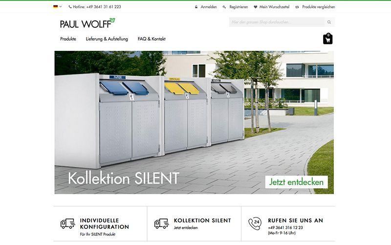 constancy GmbH –Paul Wolff Onlineshop Startseite