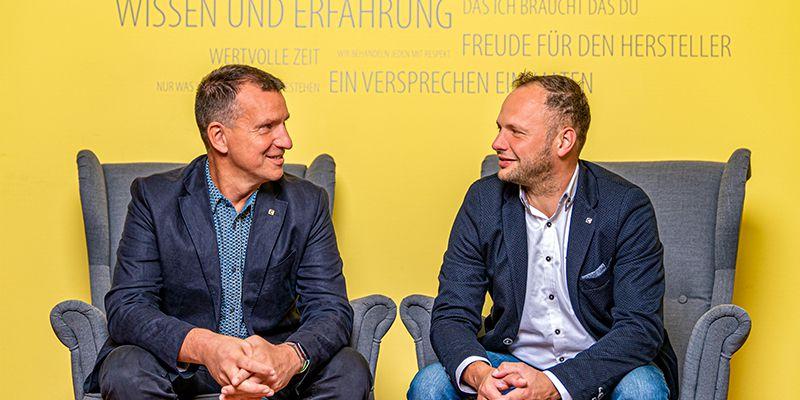 Mario Melle und Tobias Reich constancy GmbH